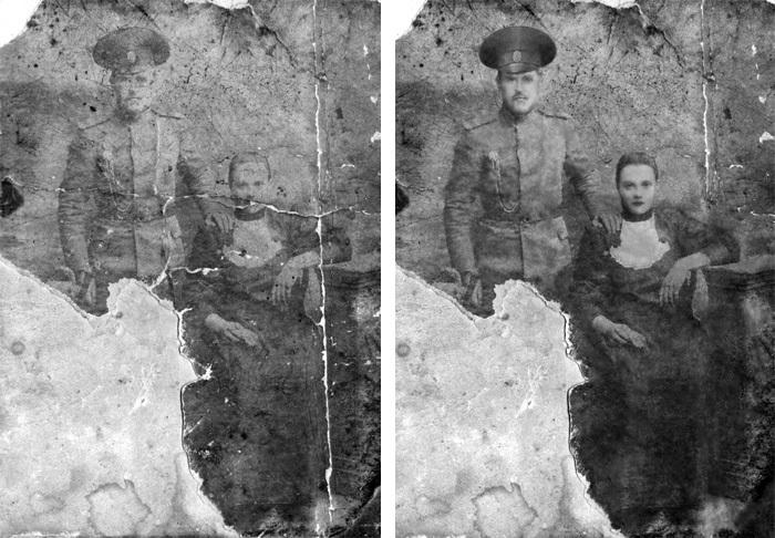 Фотореставрация с процессом (Часть 2) Фотошоп мастер, Реставрация фото, Ретушь, Длиннопост
