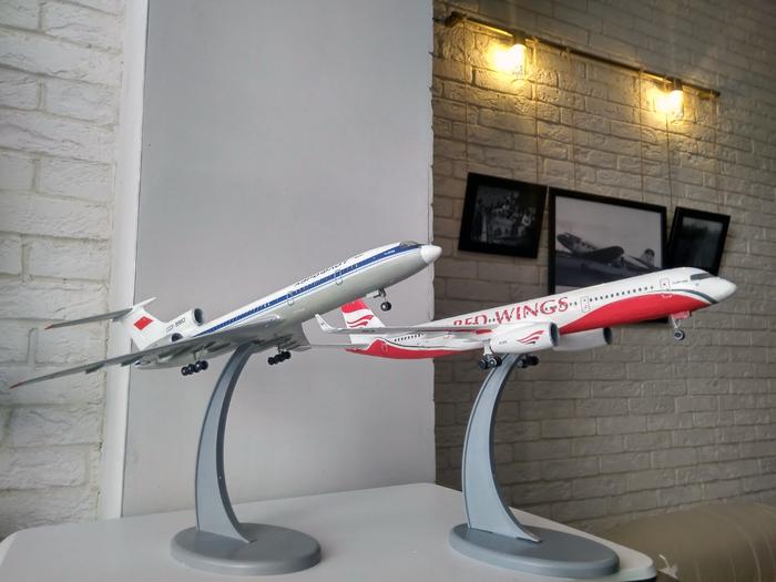 Мои Туполевы Ту-154, Ту-204, Стендовый моделизм