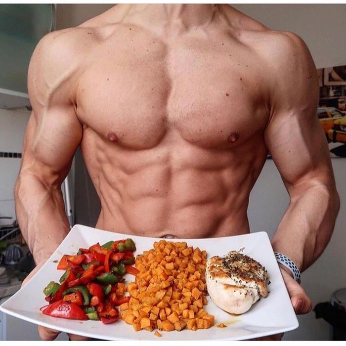 Парни и еда Торс, Мышцы, Мужская красота, Мужчина, Кухня, Еда, Длиннопост