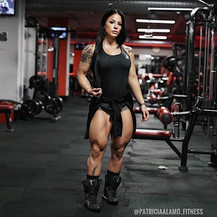Patricia Alamo (@patriciaalamo_fitness) Patricia Alamo, Крепкая девушка, Девушки, Красивая девушка, Спортивные девушки, Гифка, Длиннопост