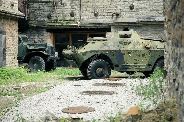 Атмосферные фото заброшенной военной техники Заброшенное, Военная техника, Длиннопост, Урбанфото
