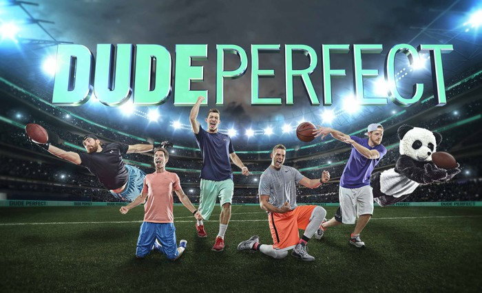 "Империя ""Dude Perfect"" Спорт, Юмор, Блог, Трюкачи, Длиннопост"