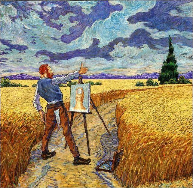 Ван Гог ставит лайк