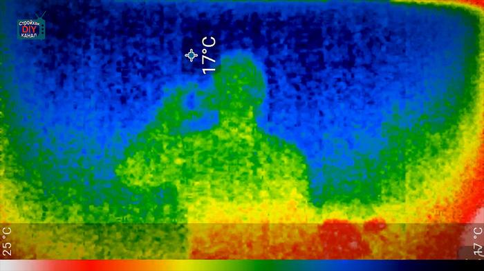 Еще один пост про тепловизор ) Стройхак, Тепловизор, Ремонт, Сик термал, Мобильный тепловизор, Видео, Длиннопост