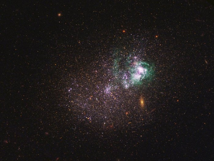 Астрономы нашли доказательства нагрева и перемещения темной материи Космос, Темная материя, Длиннопост, Галактика