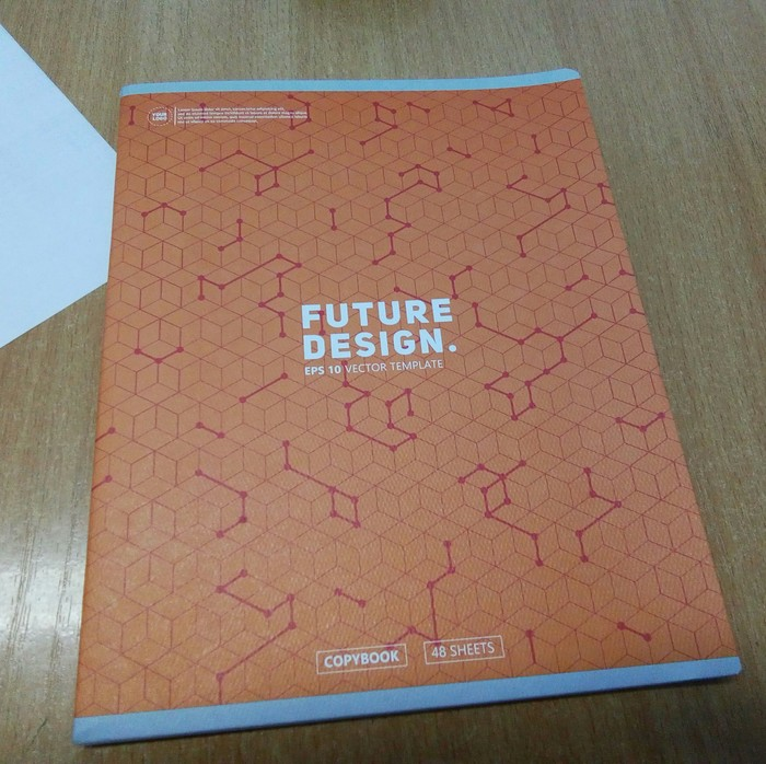 Когда не паришься по поводу дизайна Дизайн, Шаблон, Тетрадь, Длиннопост