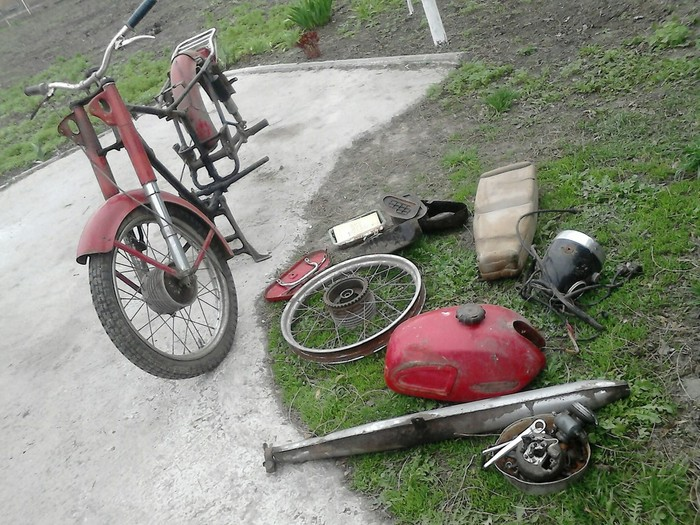 Мой Минск из металолома Минск, Мото, Мотоциклы, Из грязи в князи, Длиннопост