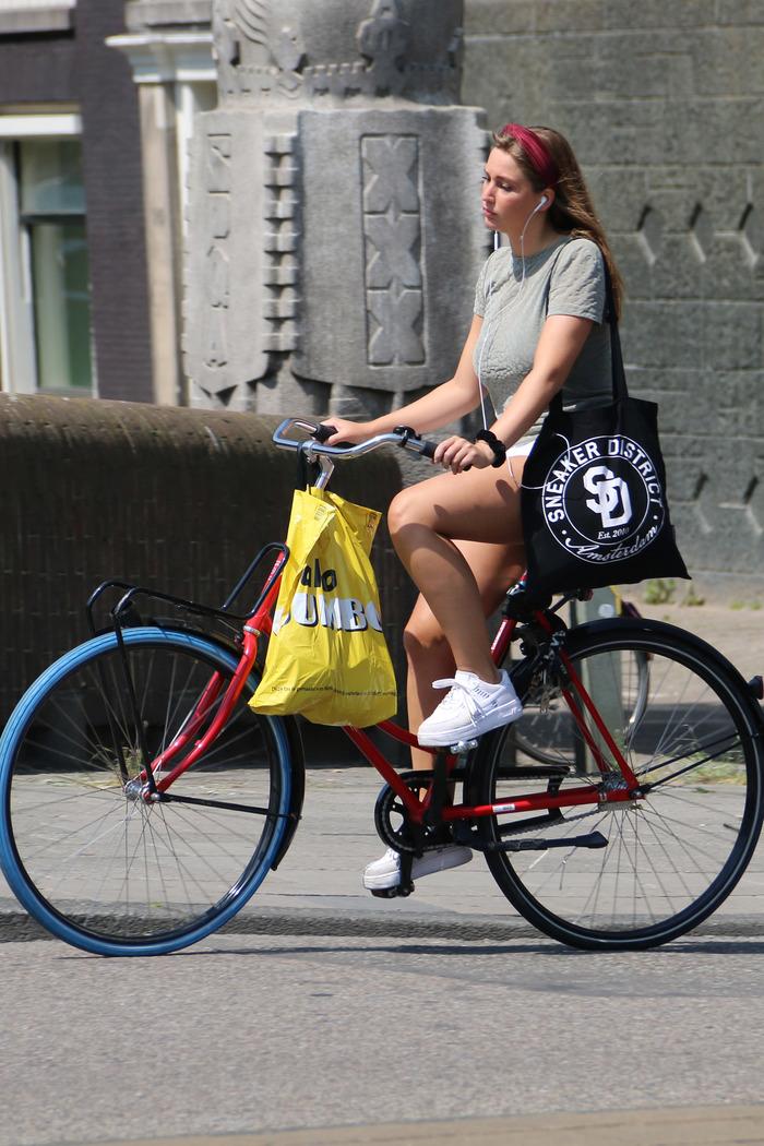 За что я люблю Нидерланды (#2) Амстердам, Нидерланды, Велосипедист, Красивая девушка, Длиннопост