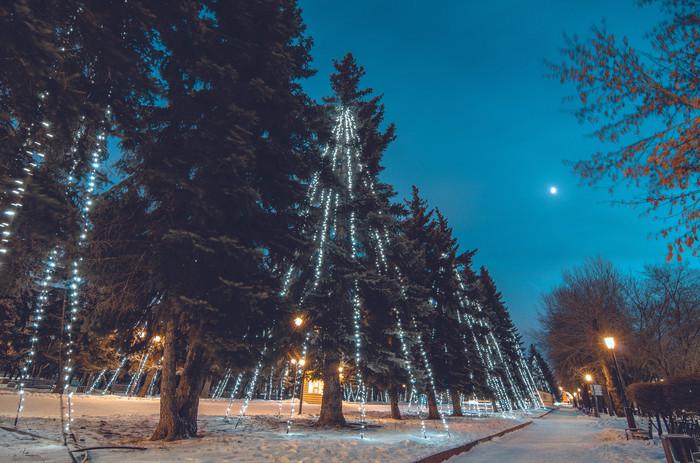 Прогулка в парке Nikon, Nikon d5100, Tokina, Красноярск, Центральный парк, Длинная выдержка, Длиннопост