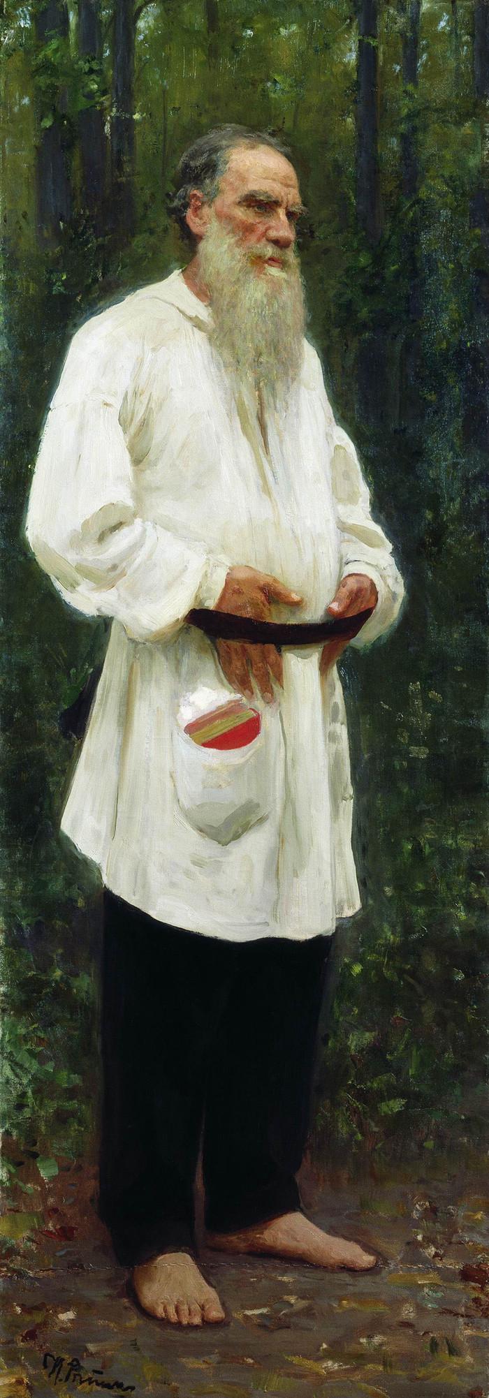 Хайп образца 1903 года или Ноги Льва Толстого Лига историков, Лев Толстой, Репин, Бунин, Скандал, Пресса, Длиннопост