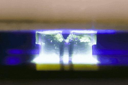 Первый «настоящий» 3D принтер – в 100 раз быстрее существующих Технологии, 3D принтер, 3D печать, Гифка