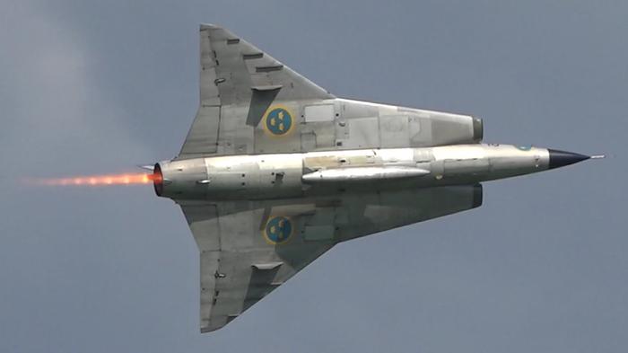 Saab 35 Draken Реактивный самолет, Швеция, Длиннопост, Saab, Истребитель