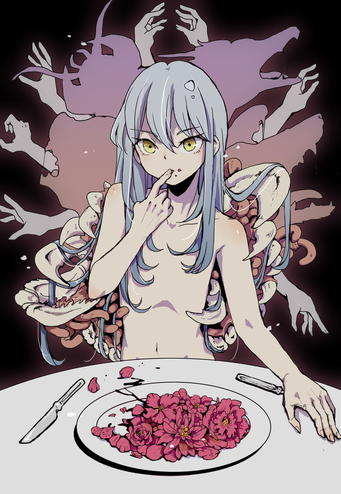 "Уникальный навык ""Хищник"" активирован Rimuru Tempest, Tensei Shitara Slime Datta Ken, Аниме, Anime Art, Slime, Its a trap!, Anime Trap"