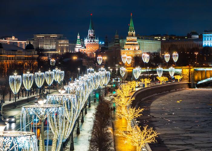 Москва в новогодние праздники. Москва, Фотография, Фотограф, Canon 5D, 24-105