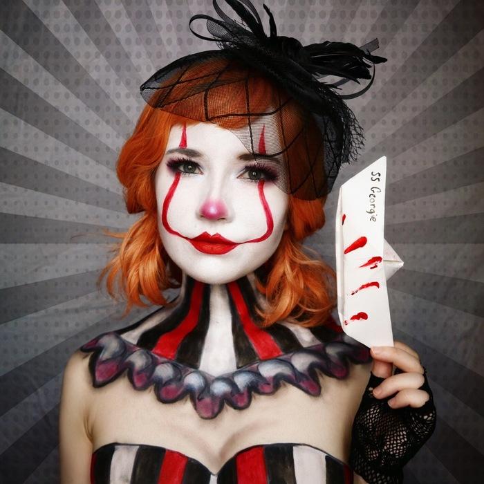 Образы для Хэллоуина 5 Косплей, Бодиарт, Хэллоуин, Длиннопост