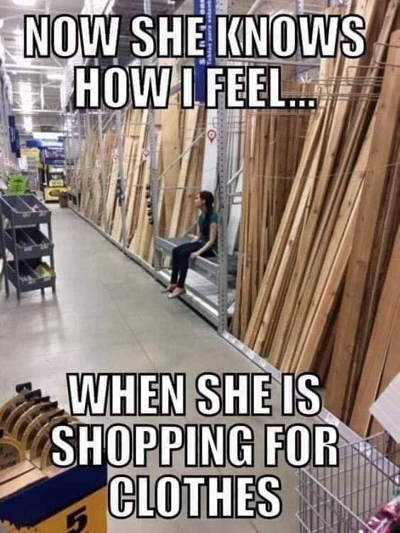 Чтоб понимала Мужчины и женщины, Совместные покупки