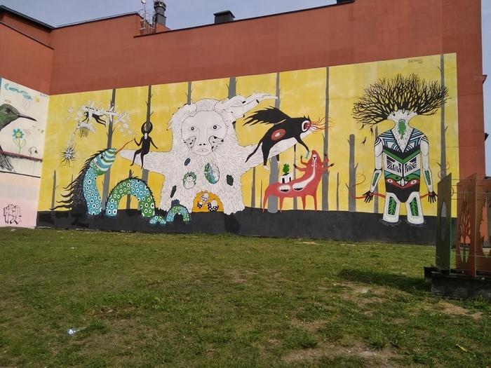 Немного классных граффити из Минска Граффити, Минск, Беларусь, Длиннопост