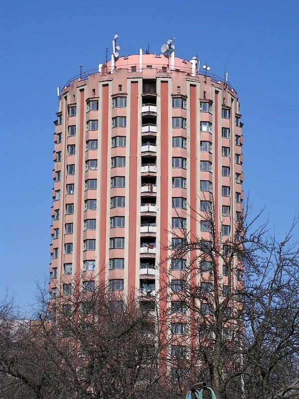 """Круглое здание """"Шайба"""" Витебск, Шайба, Стакан, Архитектура, Длиннопост"""