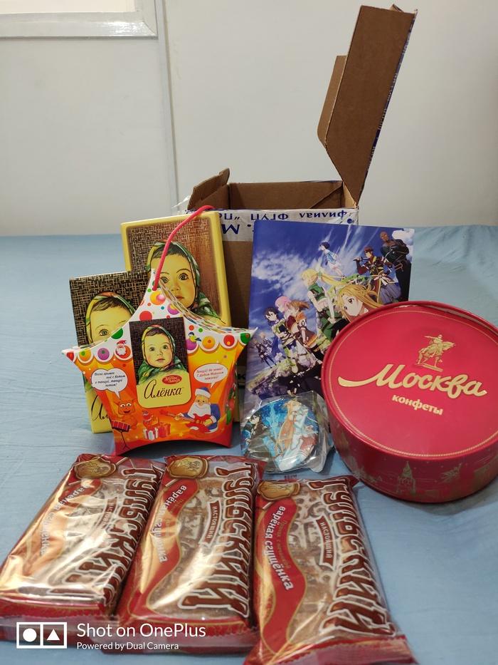 АДМ из Москвы - Израиль Новогодний обмен подарками, Обмен подарками, Отчет по обмену подарками, Москва, Длиннопост