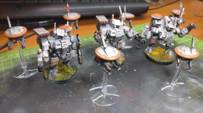 Тау я не затащил Warhammer 40k, Покраска миниатюр, Wh miniatures, Tau, Длиннопост, Миниатюра