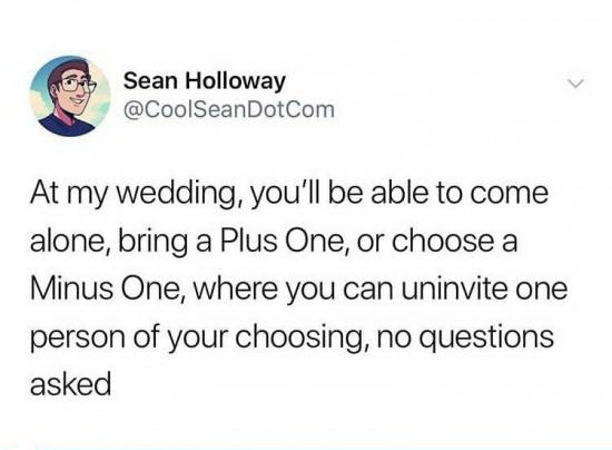 Даже интересно, чем это все может кончиться Свадьба, Twitter, Приглашение, Гости