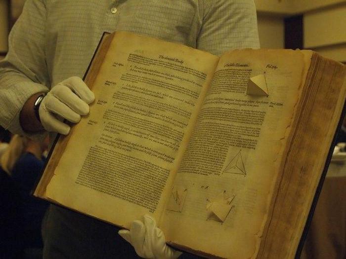 Трехмерный учебник Евклидовой геометрии, 1570 г.