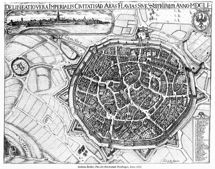 Город в метеоритном кратере Германия, Город, Строительство, Средневековье, Метеорит, Длиннопост