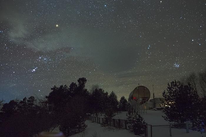 Архыз. Звездное небо, Архыз, Фотография, Красота, Сириус, Длиннопост