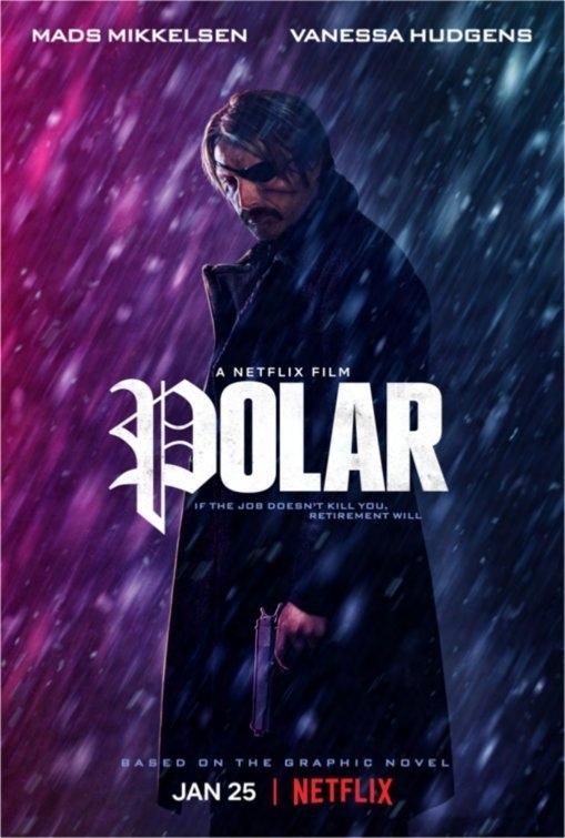"""В сети появился фильм """"Polar"""" / """"Полярный"""" с озвучкой Мадс Миккельсен, Киллер, Полярный, Netflix, Боевики, Комиксы, Видео"""
