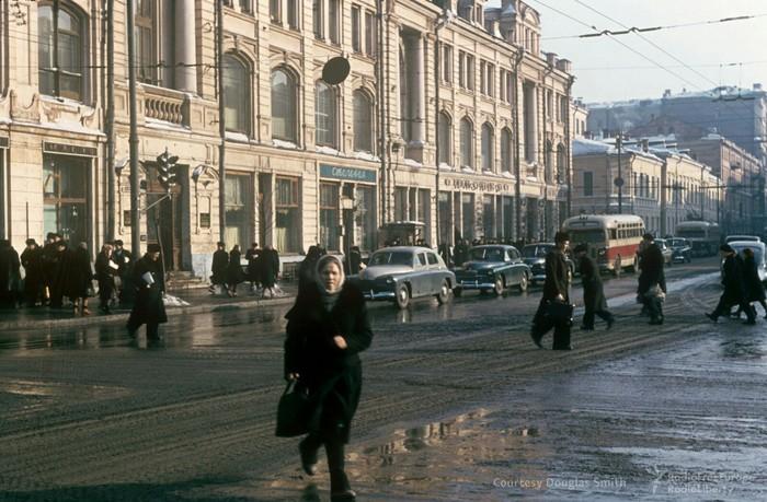 Москва в начале 50-х годов Москва, СССР, История в фотографиях, Длиннопост