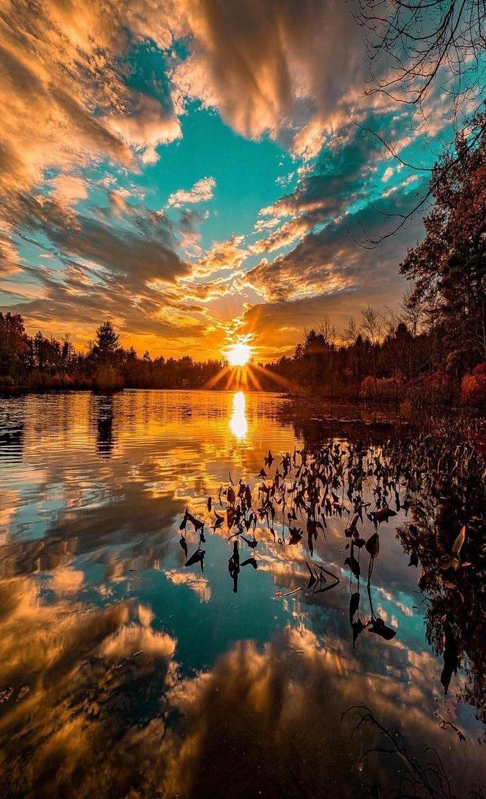 Красивое отражение