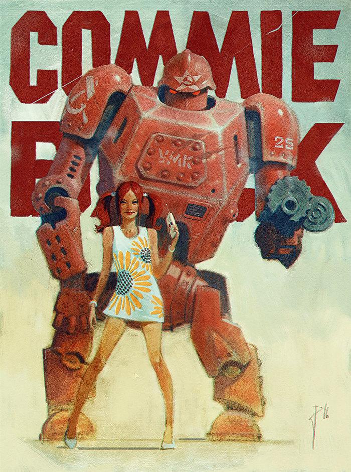 Милые роботы Художество, Робот, Длиннопост