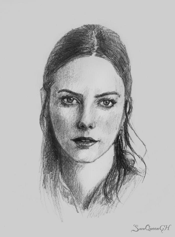 Скетчи №2 Рисунок, Рисунок карандашом, Скетч, Портрет, Карандаш, Графика, Длиннопост, Девушки, Актриса