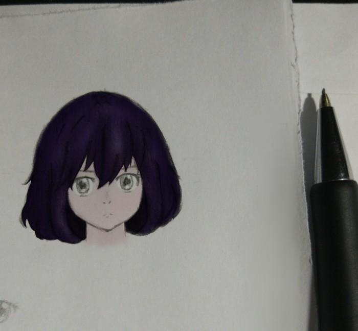 Дратути ооо)) Рисунок карандашом, Аниме