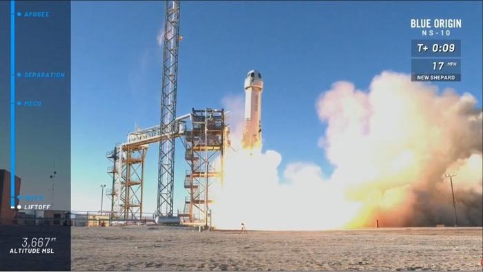 Произведены успешный старт и посадка Blue Origin New Shepard Космос, Blue Origin, New Shepard, Запуск ракеты, Джефф Безос, Техника, Технологии, Видео, Длиннопост