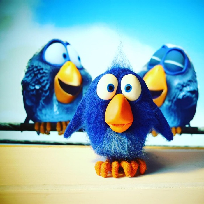 Птичка мультяшка Pixar Рукоделие без процесса, Pixar, Герои мультиков, Своими руками, Handmade, Птичка-Невеличка, Длиннопост
