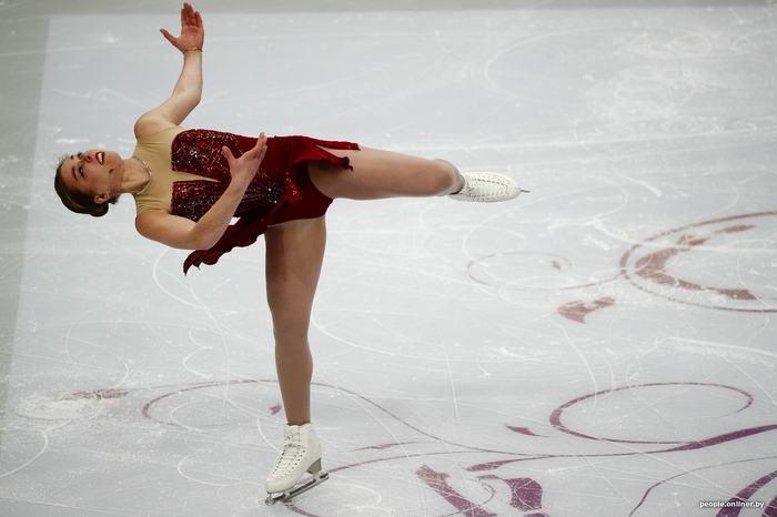 В Минске стартовал чемпионат Европы по фигурному катанию Onliner, Фигурное катание, Длиннопост