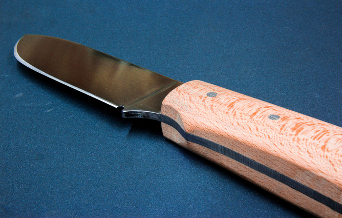 Ножик с ручкой из бука Рукоделие без процесса, Фотография, Нож