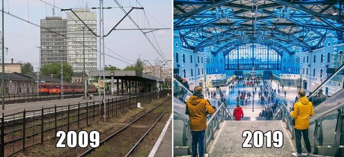 #10YearsChallenge позитивно Польша, Позитив, 10yearschallenge, Город, Урбанфото, Длиннопост