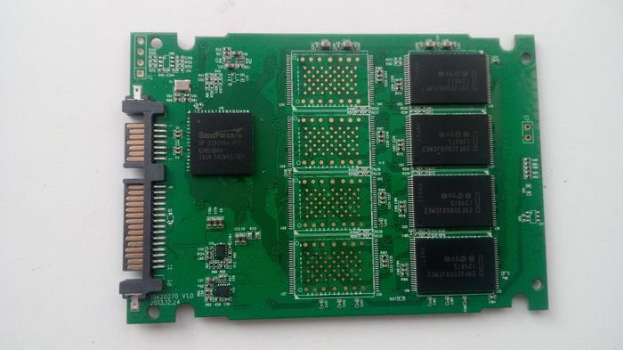 Восстановление SSD Silicon Power slim S60 SSD, Ремонт электроники, Silicon power