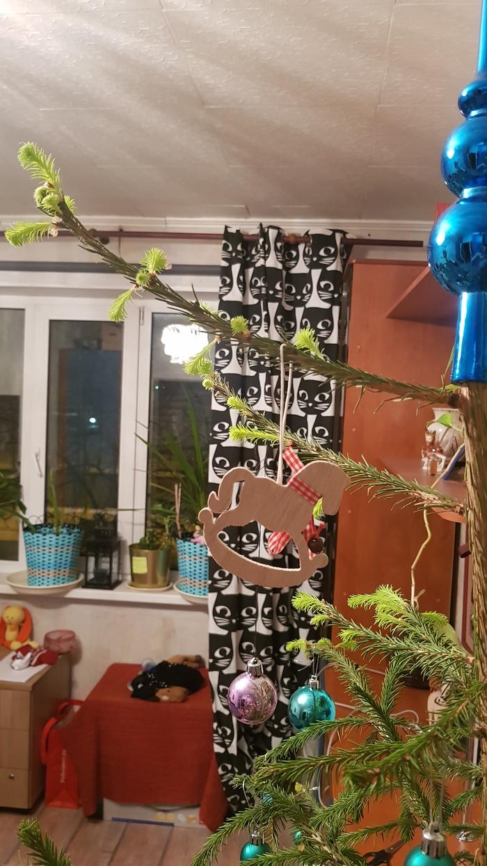 И вот что теперь делать? Новый Год, Новогодняя елка, Длиннопост