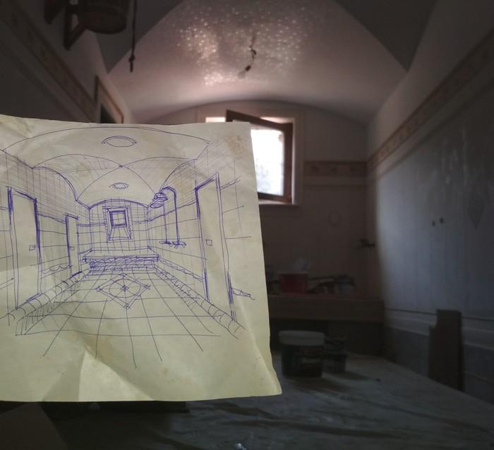 Просто моя работа. 5 Строительство, Ремонт, Казань, Хаммам, Плитка, Длиннопост