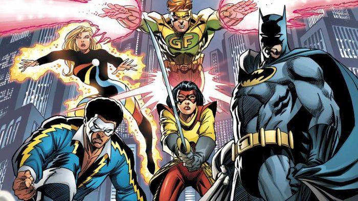 Факты о супергероях: Аутсайдеры - история команды Супергерои, DC Comics, Аутсайдеры, Бэтмен, Комиксы-Канон, Длиннопост