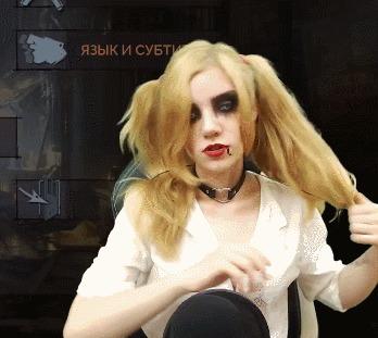Косплей Жанетт Воэман из Vampire: The Masquerade - bloodlines (Jeanette Voerman cosplay) Vampire: The Masquerade, Вампиры, Косплей, Девушки, Игры, Twitchtv, Стрим, Первый длиннопост, Гифка, Длиннопост