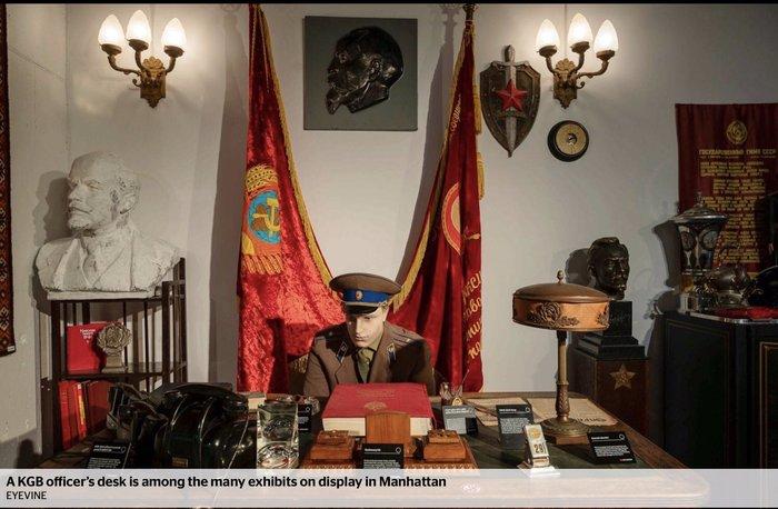 Музей шпионажа КГБ США, Музей, Владимир Корнилов