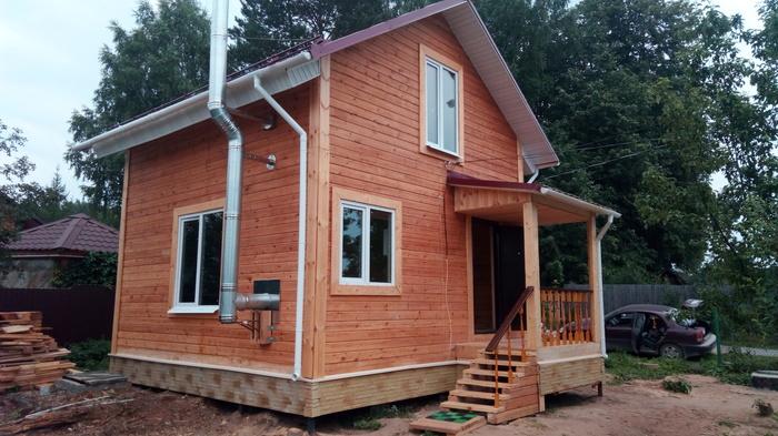 Как построить и переехать в свой дом за 1 000 000 рублей. Доступное жилье, Новое жилье, Строительство дома