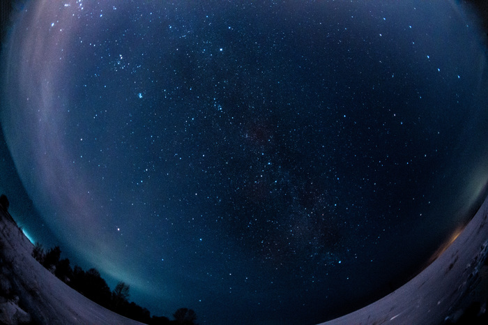 Последний взгляд Фотография, Ночь, Млечный путь, Звездное небо