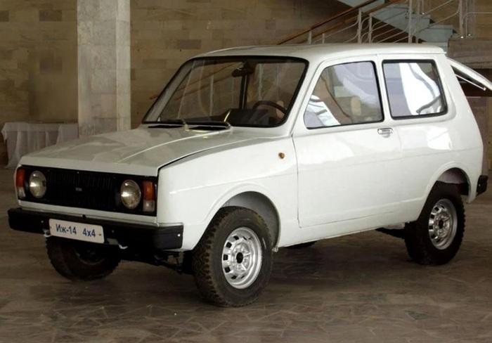 ИЖ 14 – конкурент Нивы Авто, Машина, Москвич, Длиннопост