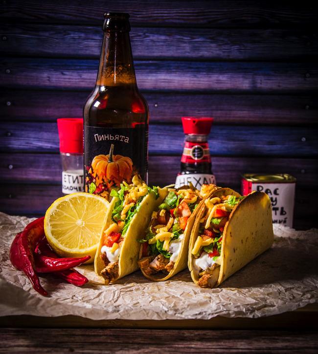 """Тако """"Лучадор"""" Еда, Рецепт, Кулинария, Мексиканская кухня, Рестлинг, Приготовление, Мясо, Длиннопост"""