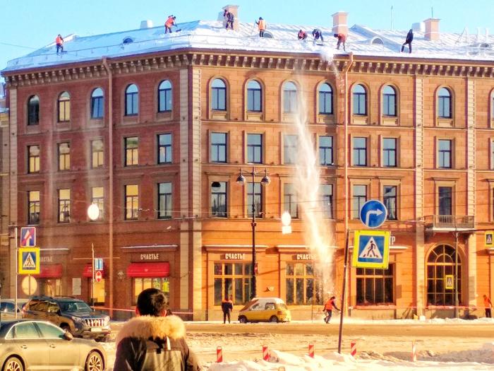 В Питере оттепель Оттепель, Санкт-Петербург, Сосули